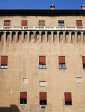 Castle of ferrara Royalty Free Stock Image