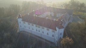 Castle Filseck in Uhingen stock video footage