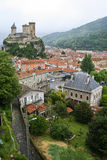 Castle of Foix Stock Image