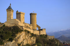 The castle of Foix Royalty Free Stock Photos