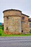 Castle of Folignano. Ponte dell'Olio. Emilia-Romagna. Italy. Royalty Free Stock Images