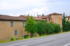 Castle of Folignano. Ponte dell'Olio. Emilia-Romagna. Italy. Royalty Free Stock Image