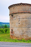 Castle of Folignano. Ponte dell'Olio. Emilia-Romagna. Italy. Stock Images