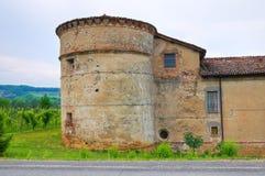 Castle of Folignano. Ponte dell'Olio. Emilia-Romagna. Italy. Stock Photos