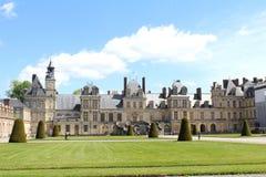 Castle Fontainebleau, France Stock Photo
