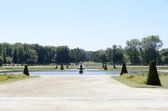 Castle Of Fontainebleau Stock Photo