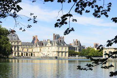 The Castle Of Fontainebleau Stock Photos