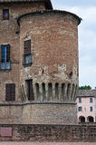 Castle of Fontanellato. Emilia-Romagna. Italy. Stock Images