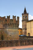 Castle of Fontanellato. Emilia-Romagna. Italy. Stock Photo