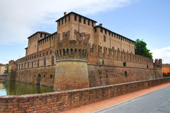 Castle of Fontanellato. Emilia-Romagna. Italy. Royalty Free Stock Photo