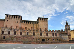 Castle of Fontanellato. Emilia-Romagna. Italy. Royalty Free Stock Photography