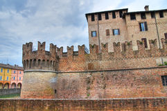 Castle of Fontanellato. Emilia-Romagna. Italy. Royalty Free Stock Image