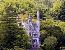 Castle in a forest Royalty Free Stock Photography