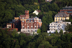 Castle in forest Budapest Stock Images
