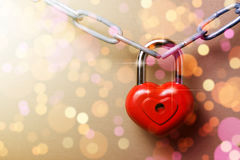 Castle in the form of a heart. Royalty Free Stock Photo