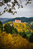 Castle in forrest Royalty Free Stock Photography