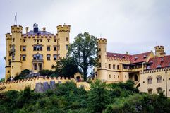 castle fort bavaria germany hohenschwangau royalty free stock image