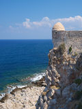 Castle Fortezza and sea Stock Images