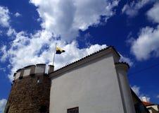 Castle fortification in town Písek. Castle fortification in town Písek, South Bohemia, Europe stock image