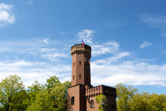 Castle fortress against the sky in Cologne Stock Photos