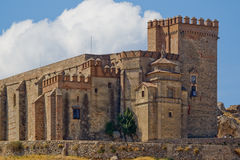 Castle - fortress of Aracena Stock Photos