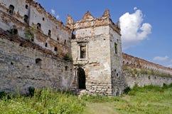 Castle-fortress in Stare Selo. The old castle in the Stare Selo, near the Lvov, Ukraine Stock Image