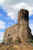 Castle and fortresses along the Mosel revier Stock Image