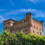 Castle Fossano, Royalty Free Stock Photography