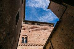 Castle Fossano, Royalty Free Stock Photography