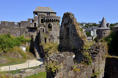 Castle of Fougères in France Royalty Free Stock Images