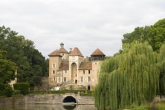 Castle in France Stock Photos