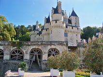 Castle of France Royalty Free Stock Image