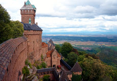 Castle in France Royalty Free Stock Photos
