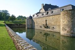 Castle in France Stock Images