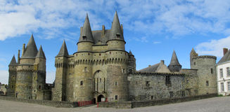 Castle in France, les chateaux de la Loire Stock Photography
