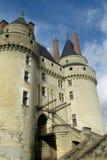 Castle in France, les chateaux de la Loire Stock Photos