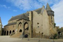 Castle in France, les chateaux de la Loire Stock Photo