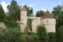 Castle in Franconia Royalty Free Stock Photo