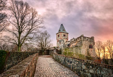 Castle Frankenstein, Darmstadt, Germany Stock Image