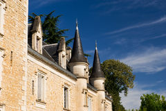 Castle in the French Charente Stock Photography