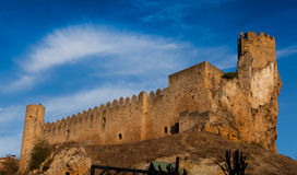 Castle of Frias Stock Image