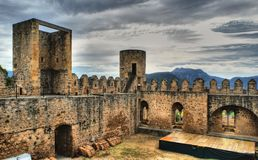 Castle of Frias Royalty Free Stock Photography