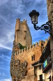 Castle of Frias Royalty Free Stock Photos