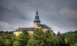 Castle Frydlant in the Czech Republic, Europe Royalty Free Stock Images