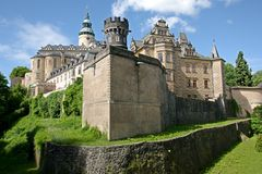 Castle Frydlant, Czech republic Royalty Free Stock Photography
