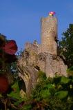 Castle Frydstejn. Frydstejn ruins of the castle from the year 1376 - Czech republic Stock Photo