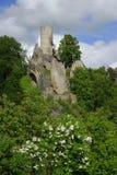 Castle Frydstejn. Old castle Frydstejn in Czech Republic Royalty Free Stock Photo