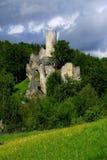 Castle Frydstejn. Old castle Frydstejn in Czech Republic Stock Photo