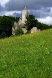 Castle Frydstejn. Old castle Frydstejn in Czech Republic Royalty Free Stock Image