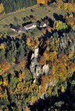 Castle Frydstejn stock photography